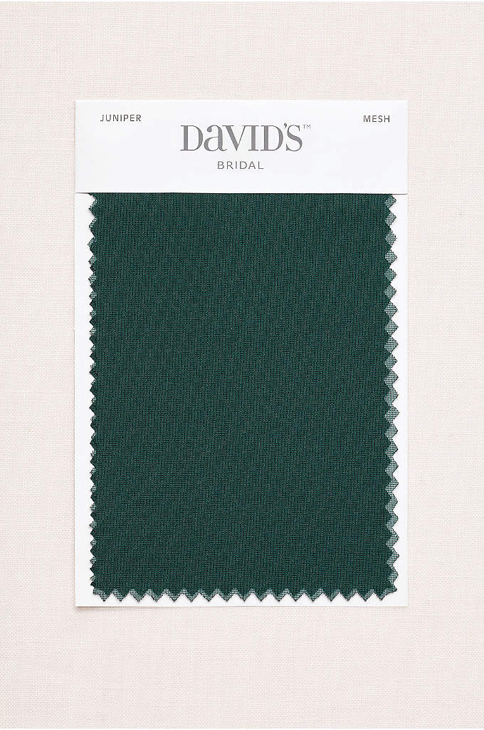 Juniper Fabric Swatch - Available in all of David's Bridal's exclusive colors,