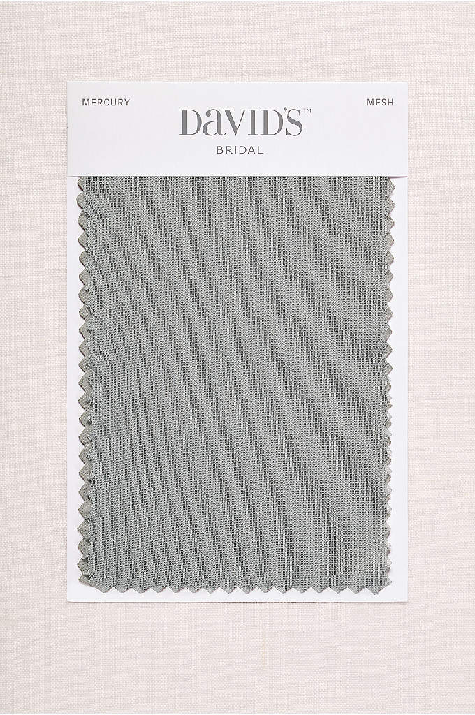 Mercury Fabric Swatch - Available in all of David's Bridal's exclusive colors,