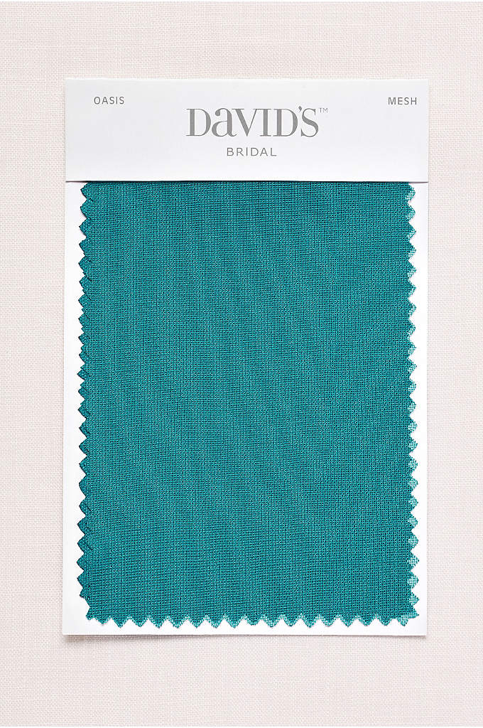 Oasis Fabric Swatch - Available in all of David's Bridal's exclusive colors,