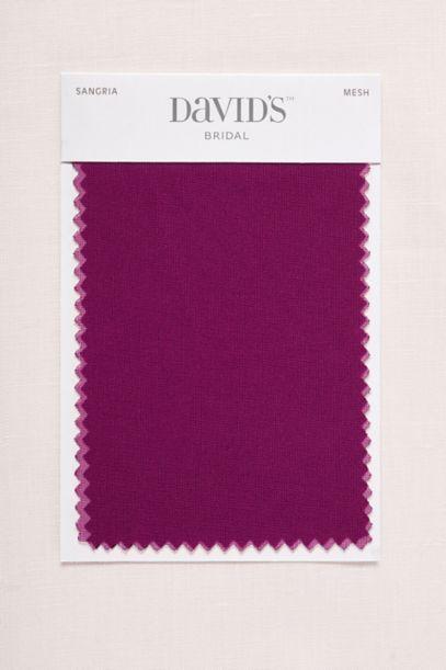 Sangria Fabric Swatch Davids Bridal
