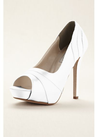 Emmy Dyeable Platform Pump by Touch Ups Emmy