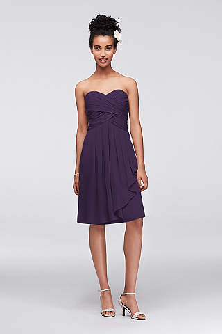 Plum Bridesmaid Dress