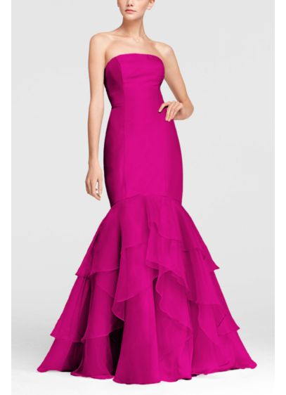 Long Mermaid/ Trumpet Strapless Dress - David's Bridal