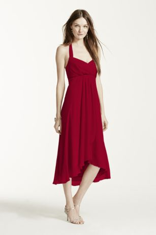 Hi Low Halter Dress