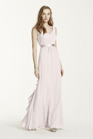 short frilly chiffon dresses