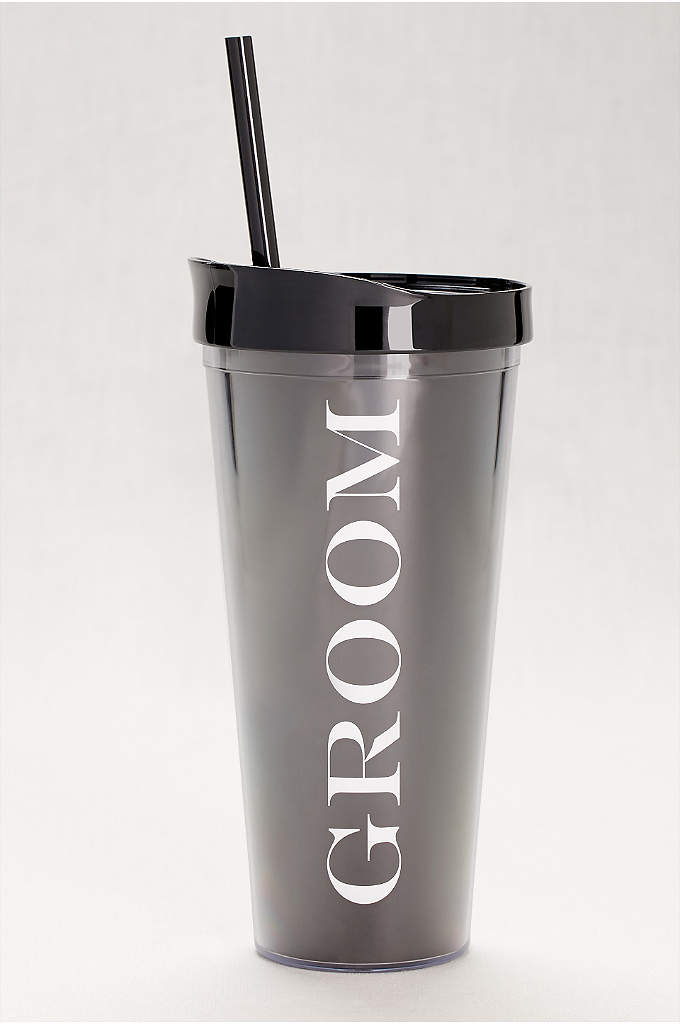 Groom Tumbler - A useful gift for a newly engaged groom,