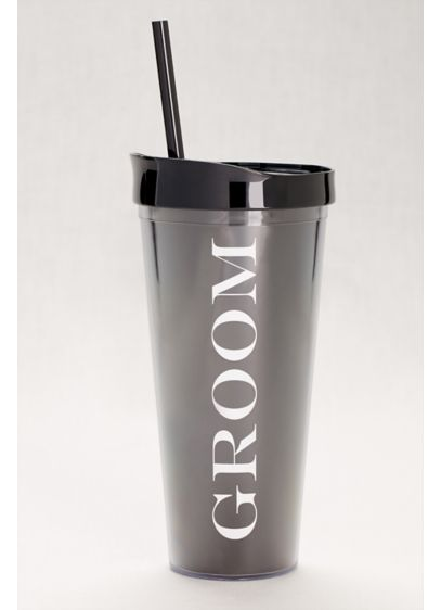 Groom Tumbler - Wedding Gifts & Decorations