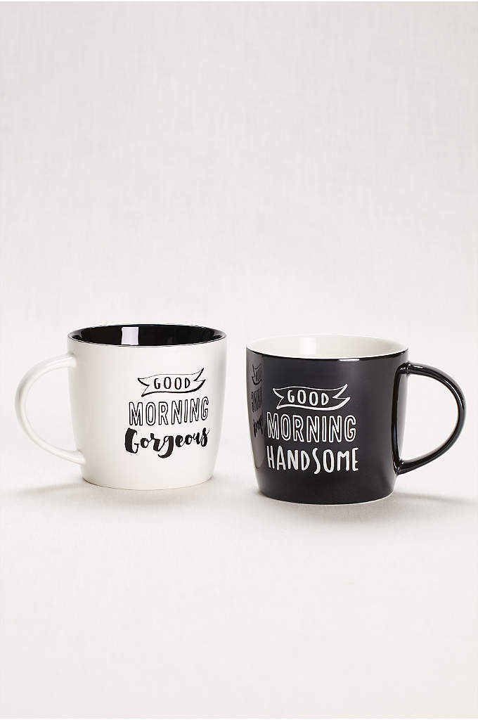 Good Morning Handsome and Gorgeous Mugs Set of - Start the day off on a high note