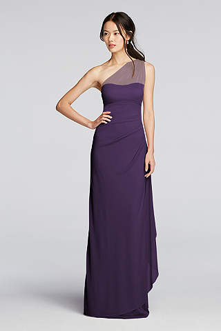 Plum and Eggplant Dresses & Gowns | David's Bridal