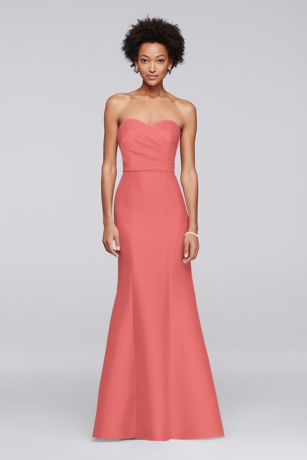 Coral Bridesmaid Dresses Different Styles | David's Bridal