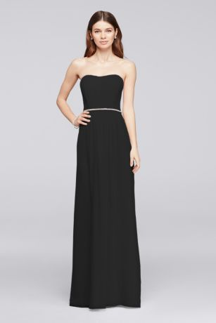 Black Gown with Belt