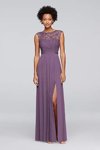 Purple Bridesmaid Dresses Sleeves