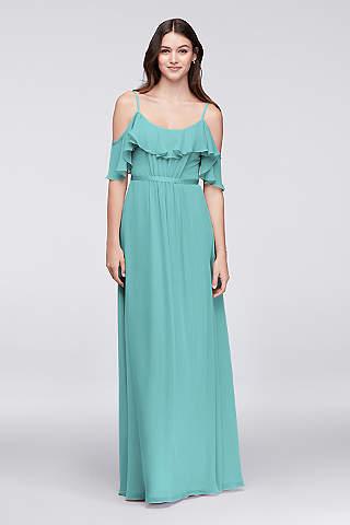 Aqua Bridesmaid Dresses