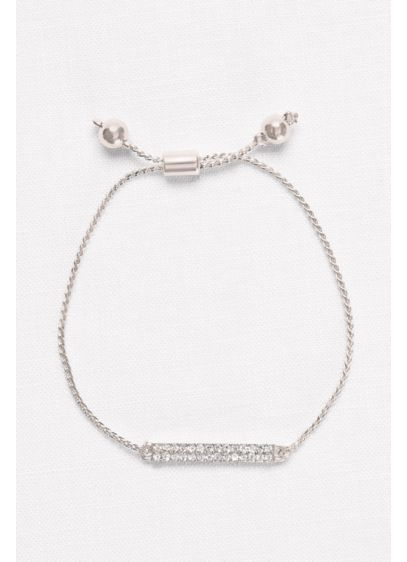 Pull Pave Bar Bracelet - Wedding Accessories