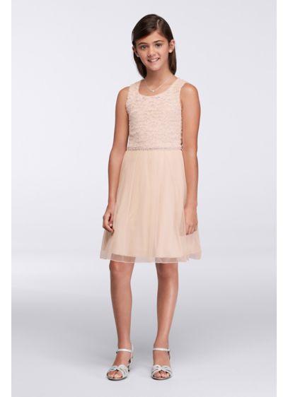 Short Red Soft & Flowy Speechless Bridesmaid Dress