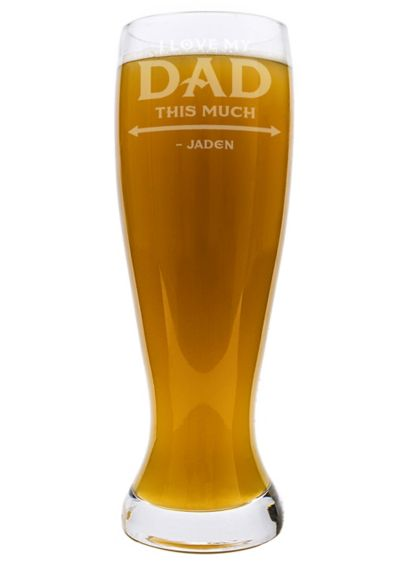 Personalized Dad XL Pilsner Glass FD16-1244