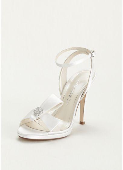 White Soft & Flowy Caparros Bridesmaid Dress
