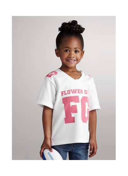DB Exclusive Flower Girl Athletic Jersey - Wedding Gifts & Decorations