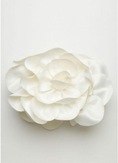 Sondra Roberts Two Sided Floral Minaudiere Handbag - Wedding Accessories