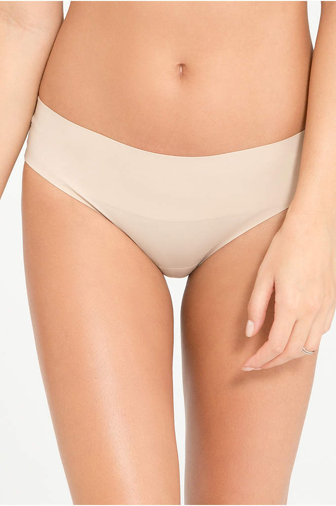 Spanx Undie-Tectable Lace Bikini - With elastic-free edges and a bonded waistband, this