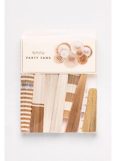 Party Fans Set of 8 - Wedding Gifts & Decorations