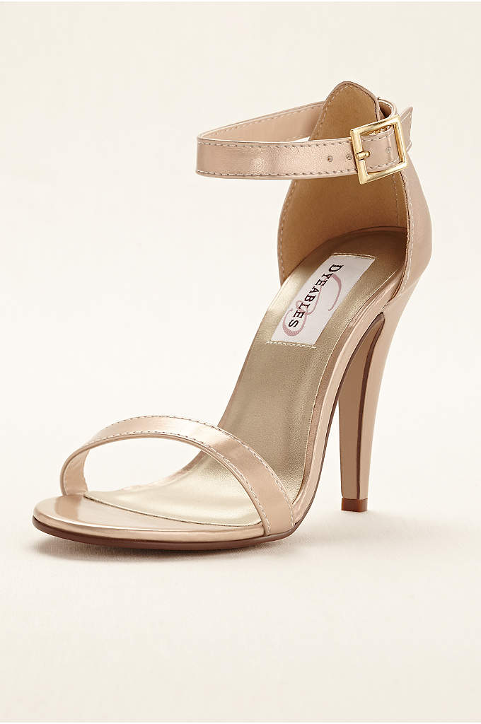 Faith Metallic Ankle Strap Sandal - Step out in style in this simple yet