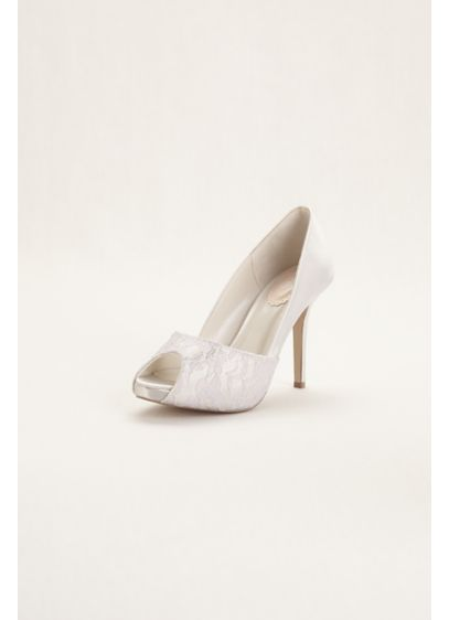 Pink Paradox White (Pink Paradox London Full Back Peep Toe)