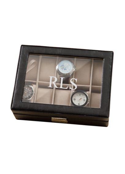 Personalized Leather Watch Box GC1082