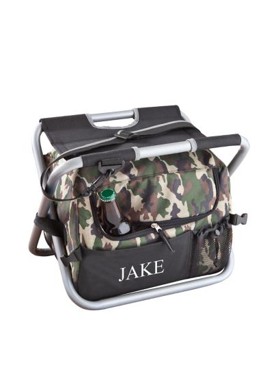 Personalized Deluxe Camouflage Sit n Sip Cooler - Wedding Gifts & Decorations