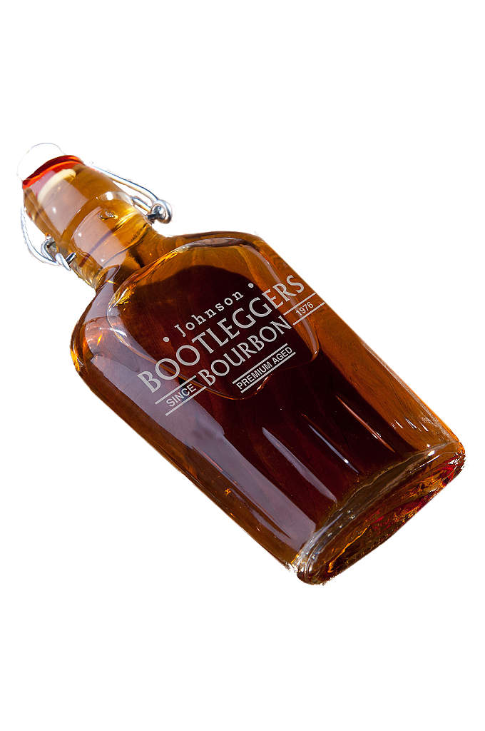 Personalized Vintage Glass Flasks - Our vintage glass flasks are excellent replicas and