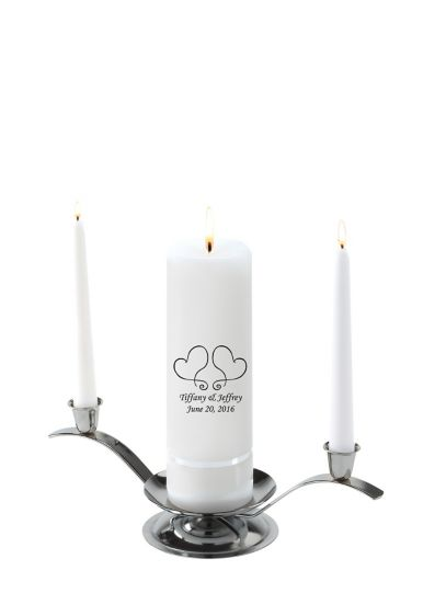 Personalized Premier Design Unity Candle Set - Wedding Gifts & Decorations