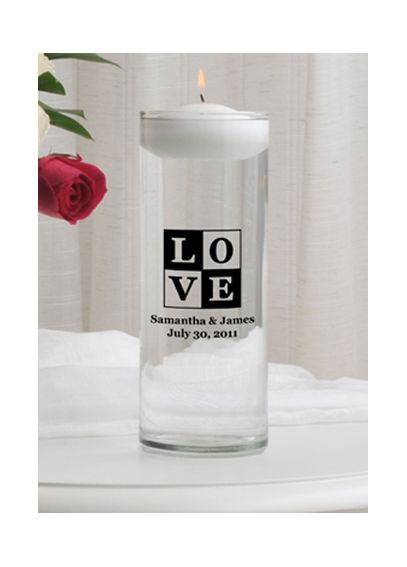 Personalized Floating Designs Unity Candle GC376designs