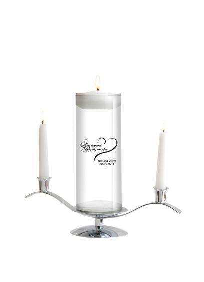 Personalized Floating Designs Unity Candle Set - Wedding Gifts & Decorations