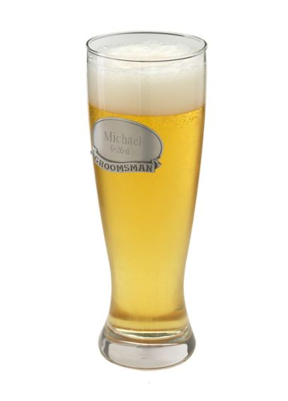 Personalized Grand Pilsner with Pewter Medallion GC404