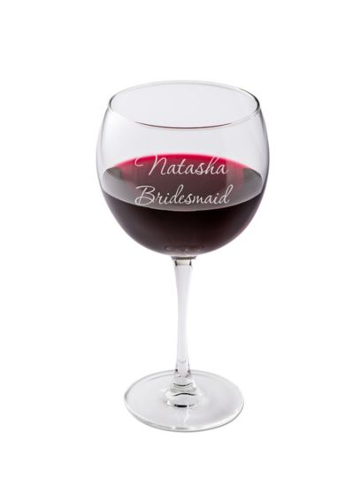 Personalized Connoisseur Red Wine Glass GC409