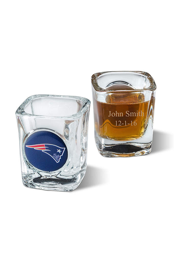 Personalized NFL Shot Glass - Here's a new way to honor your favorite