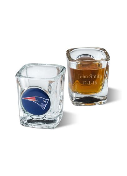 Personalized NFL Shot Glass - Wedding Gifts & Decorations