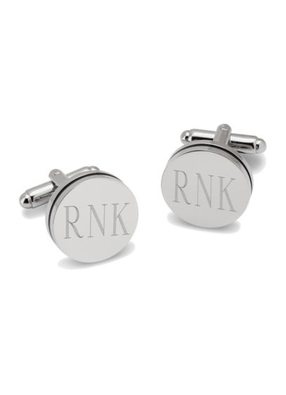 (Personalized Pin Stripe Cufflinks)