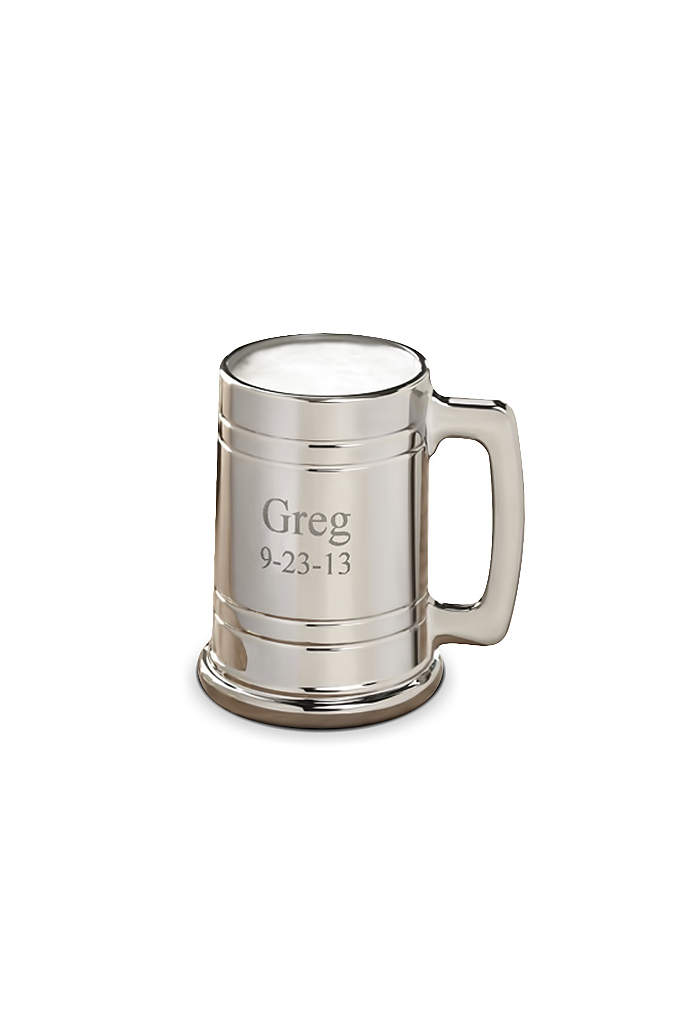 Personalized Gunmetal Mug - Beer drinkers and mug collectors will love this