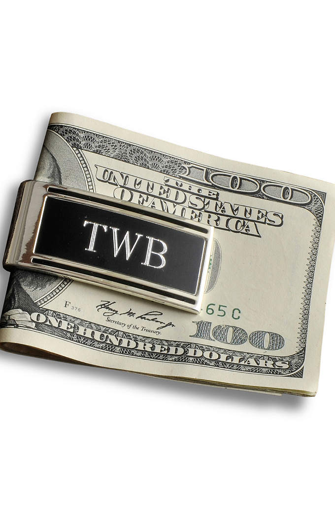 Personalized Millionaire Money Clip - Help your groomsmen look like a million bucks