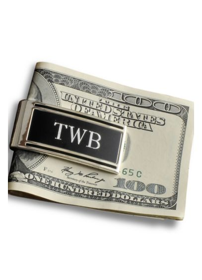 Personalized Millionaire Money Clip - Wedding Gifts & Decorations
