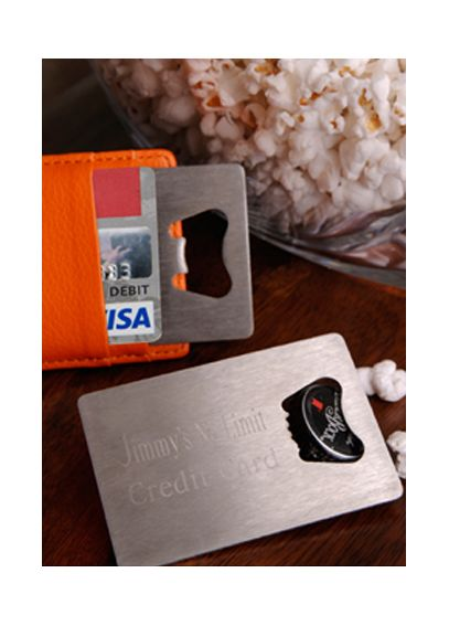 Personalized Credit Card Bottle Opener GC923