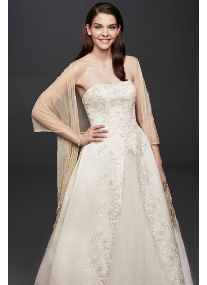 Mesh Embellished Wrap - Wedding Accessories