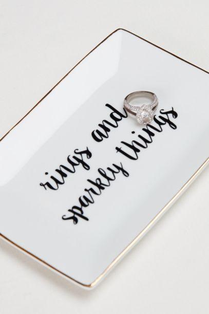 rings and sparkly things ring dish davids bridal