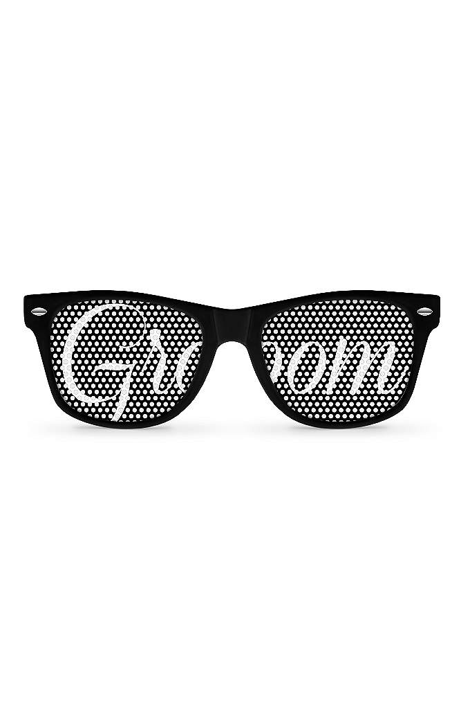 Groom Sunglasses - Say 'Eye Do' in style because with a