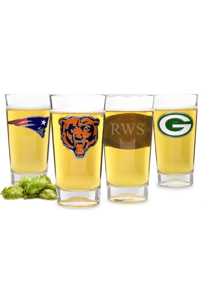 Personalized NFL Pint Glass GSHF