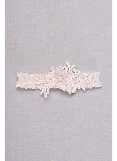 Venise Lace Applique Garter - Wedding Accessories
