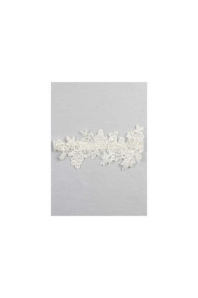 Sea of Petals Bridal Garter - This elegant bridal garter is a beautiful way