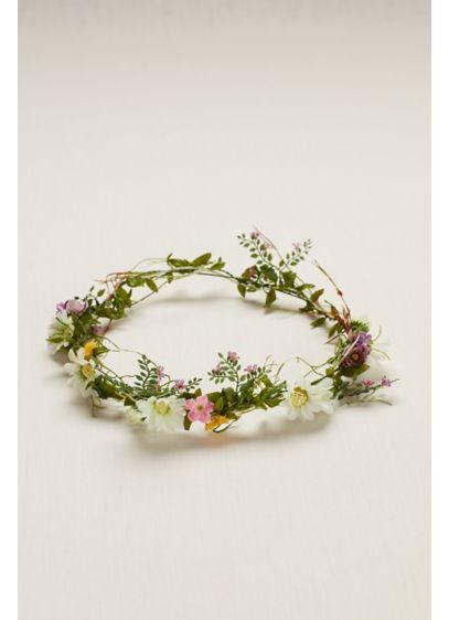 Flower Hair Crown - Wedding Accessories