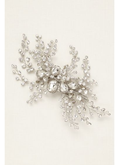 Bold Crystal Spray Hair Clip - Wedding Accessories